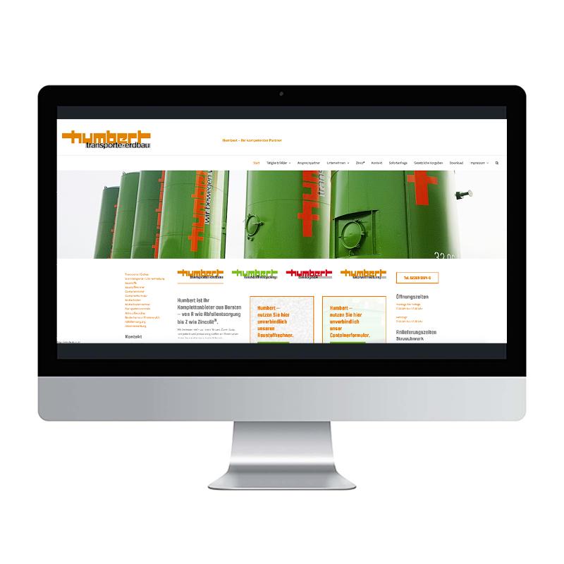 adcom werbeagentur Corporate Design Web-Design Humbert GmbH Dorsten