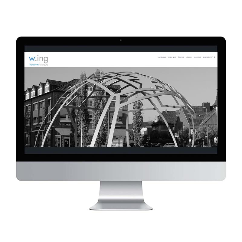 adcom werbeagentur Corporate Design Web-Design Wehlmann Ingenieure Recklinghausen