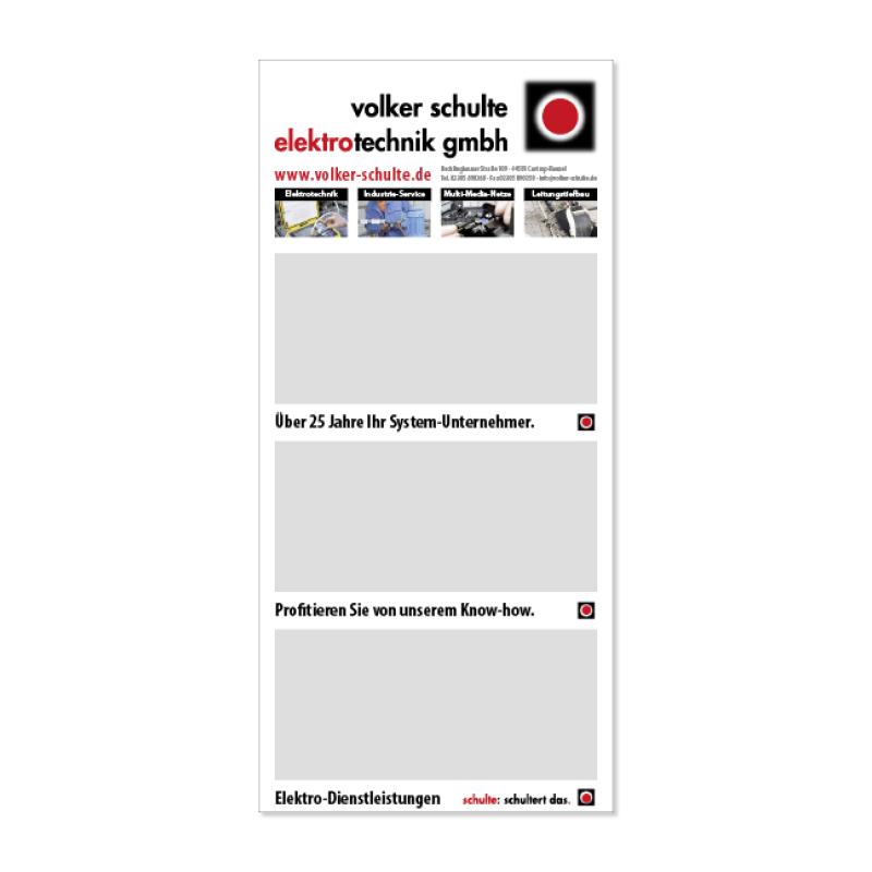 adcom werbeagentur Corporate Design 3-Monatskalender Volker Schulte Elektrotechnik
