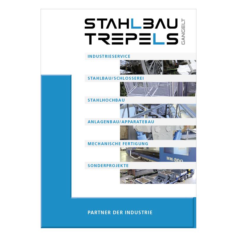 adcom werbeagentur Corporate Design Print Stahlbau Trepels GmbH Gangelt Prospekt