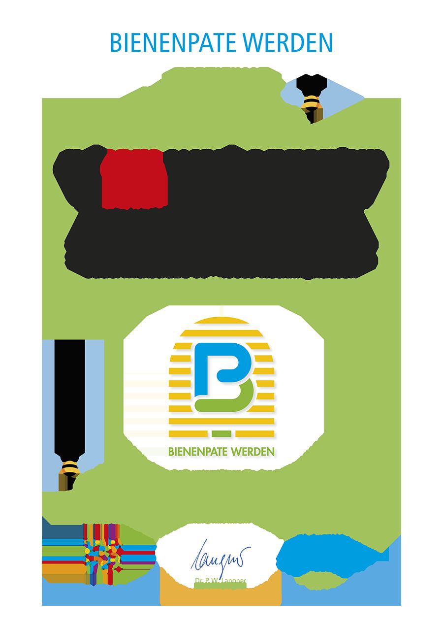 adcom werbeagentur Imkerei Bienenhort Suderwich Recklinghausen Bienenpatenschaft Zertifikat